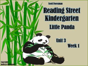 Scott Foresman Reading Street Kindergarten Unit 3  Week 1