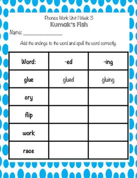 Scott Foresman Reading Street Kumak's Fish Common Core