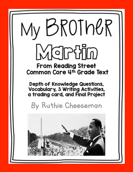 Scott Foresman Reading Street: My Brother Martin