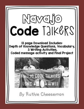 Code Talker Book Project