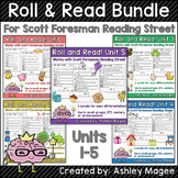 Scott Foresman Reading Street Roll & Read Fluency Practice Bundle Units 1-5