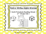 Scott Foresman Reading Street-Second Grade Unit 1 Roll n' Write Sight Words