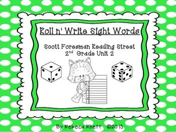 Scott Foresman Reading Street-Second Grade Unit 2 Roll n'