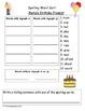 Scott Foresman Reading Street Spelling Sorts Bundle : Unit 4