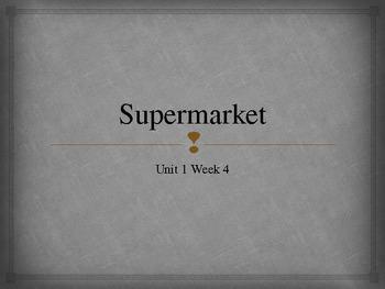 Scott Foresman Reading Street Supermarket