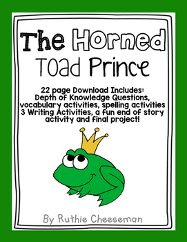 Scott Foresman Reading Street: The Horned Toad Prince