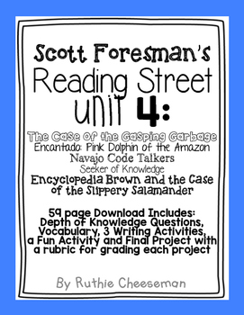 Scott Foresman Reading Street: Unit 4 Puzzles and Mysterie