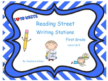 Scott Foresman Reading Street Writing Stations Units 1.R-5