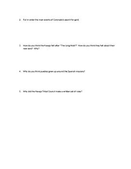 Scott Foresman Regions Ch. 11 Study Guide