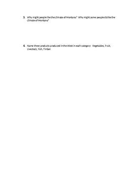 Scott Foresman Regions Ch. 12 Study Guide