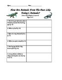 Scott Foresman- Science- Grade 3- Ch. 2:How Animals Live- Lesson 4 Guided Notes
