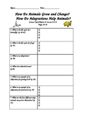 Scott Foresman-Science-Grade 3-Ch. 2:How Animals Live-Lessons 2 & 3 Guided Notes