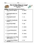 Scott Foresman- Science- Grade 3- Ch.4: Plants & Animals -Lesson 2 Quiz