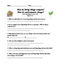 Scott Foresman- Science- Grade 3- Ch.4: Plants & Animals -Lesson 3 & 4 Quiz