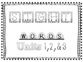 Scott Foresman Sight Word Review