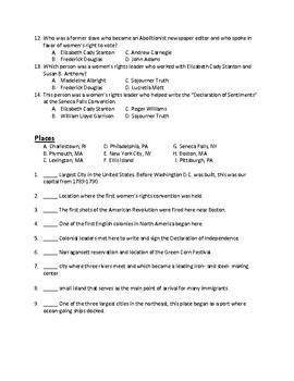Scott Foresman Social Studies Grade 4 Chapter 5 People of the Northeast