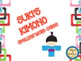 Scott Foresman Suki's Kimono Spelling Cards