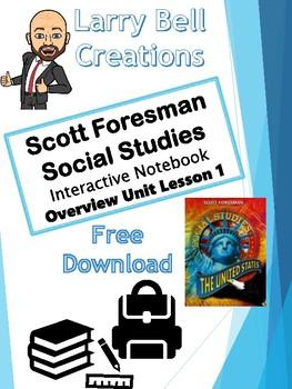 Scott Foresman- US Interactive Google Notebooks- Overview Unit Lesson 1