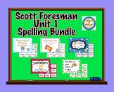 Scott Foresman Unit 1 Spelling Card BUNDLE