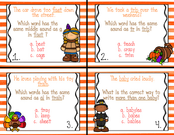 Scott Foresman Unit 2 Phonics Review Task Cards (2nd Grade)