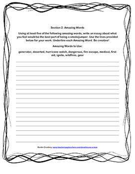 Scott-Foresman Unit 5, Grade 4 Vocab and Amazing Words Bundle