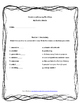 Scott-Foresman Unit 6, Grade 4 Vocab and Amazing Words Quiz Bundle