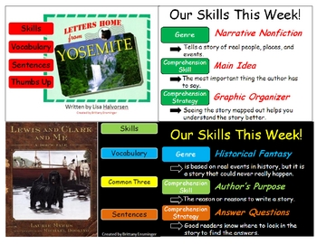 Scott Foresman Unit One Vocabulary PowerPoints- 4th Grade