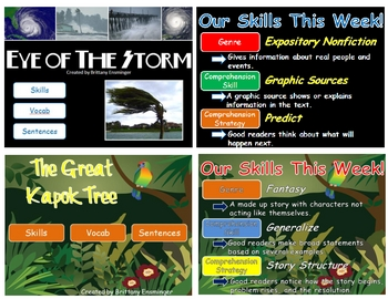 Scott Foresman Unit Three Vocabulary PowerPoints- 4th Grade