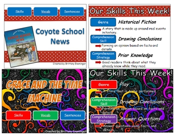 Scott Foresman Unit Two Vocabulary PowerPoints- 4th Grade