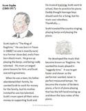 Scott Joplin Biography and questions