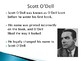 Scott O'Dell Biography PowerPoint