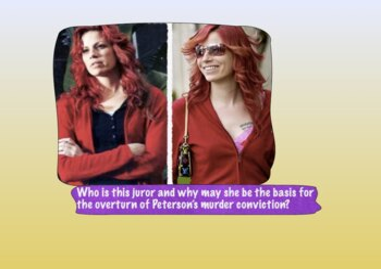 Scott Peterson & Murder of Pregnant Wife Laci - 71 Slides
