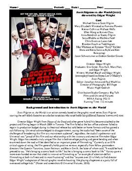 Scott Pilgrim vs. the World Film (2010) Study Guide Movie Packet