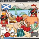 """Scottish Clip Art: """"Scotland the Brave"""""""