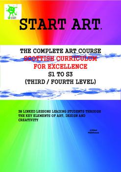 Scottish Curriculum for Excellence. Art Curriculum