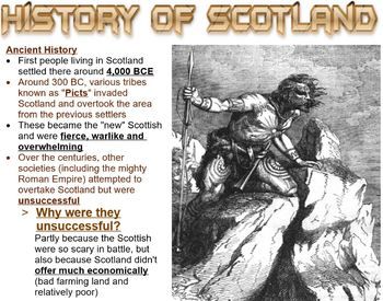 Scottish Revolution Smartboard Presentation