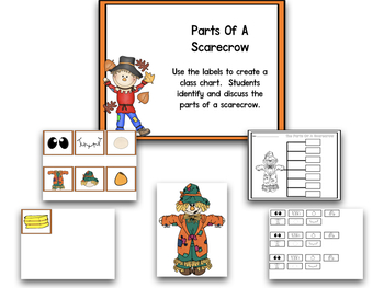 Scarecrows Math And Literacy Centers