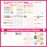 Scout Leader Troop Planner Packet | Fillable PDF | Girl Scouts Inspired