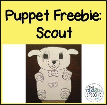 Scout Puppet: A Multi-use Therapy Craft