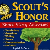 Scout's Honor Short Story Activities - Printable & Digital