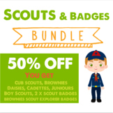 Scout troops and badges BUNDLE