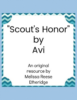 Scout's Honor by Avi Resource