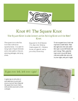 Scouts and Knots are like Peanut Butter and Jelly