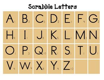 Scrabble Addition