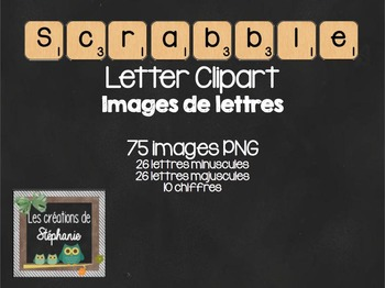 Wood Letter Cliparts