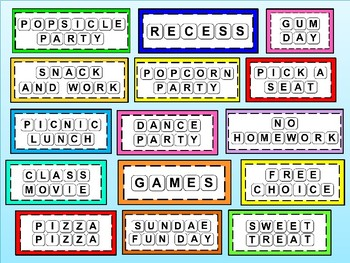 Scrabble Rewards - Incentives