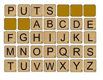Scrabble Sight Words 2
