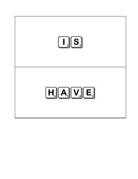 Scrabble Sight Words for Scott Foresman
