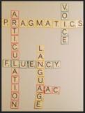 Scrabble Speech Wall Decor