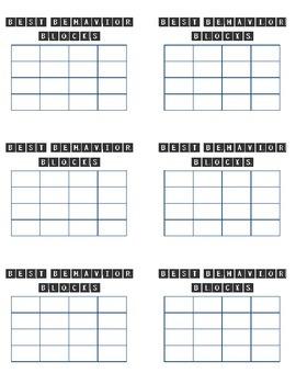 Scrabble Sticker Chart